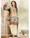 Stunning Satin Multi Colour Designer Palazzo Salwar Kameez