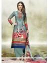 Royal Multi Colour Designer Palazzo Salwar Kameez