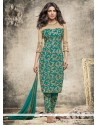 Priyanka Chopra Embroidered Work Churidar Designer Suit