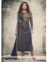 Priyanka Chopra Net Brasso Churidar Designer Suit
