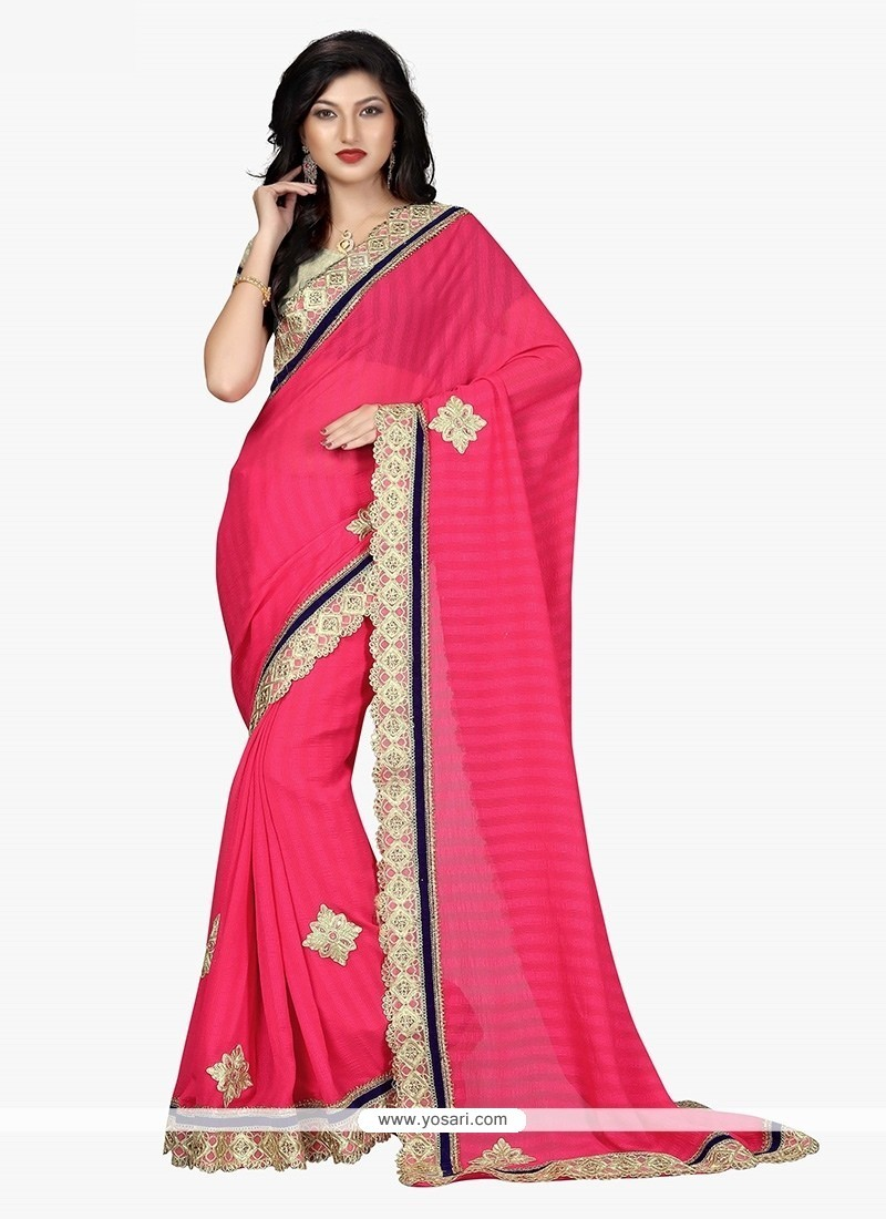Extraordinary Georgette Classic Saree