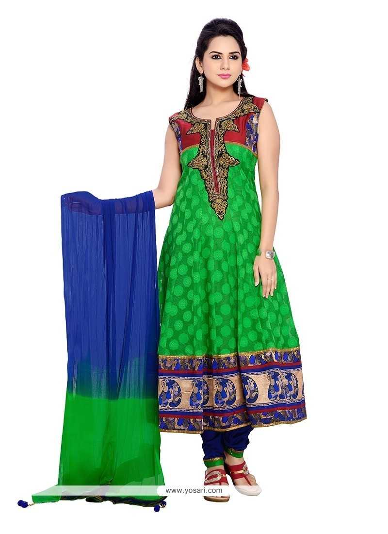 Tiptop Resham Work Readymade Suit