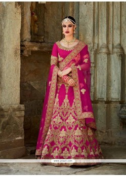 Trendy Patch Border Work A Line Lehenga Choli