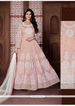 Spectacular Pink Anarkali Salwar Kameez
