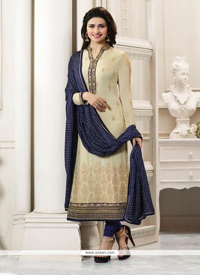 Prachi Desai Churidar Designer Suit