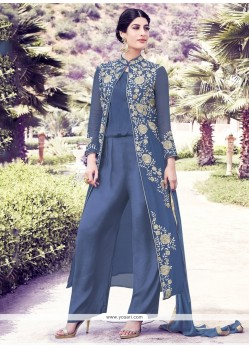 Genius Georgette Designer Suit