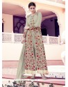 Classy Georgette Resham Work Anarkali Salwar Kameez