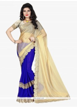 Lavish Jacquard Blue Traditional Saree