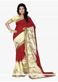 Distinctively Banarasi Silk Trendy Saree