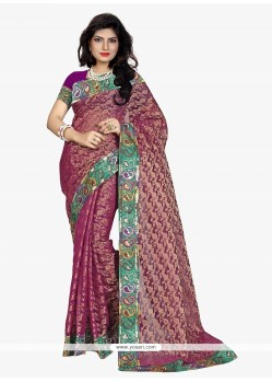 Exciting Patch Border Work Classic Saree