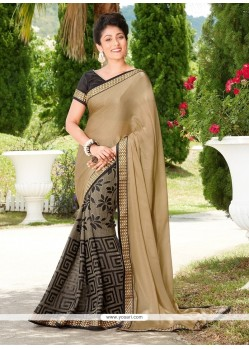 Sterling Georgette Print Work Printed Saree