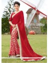 Outstanding Georgette Multi Colour Print Work Printed Saree