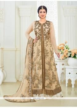 Ayesha Takia Georgette Designer Floor Length Salwar Suit