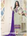 Snazzy Georgette Churidar Designer Suit