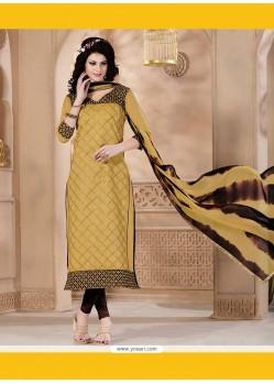 Dilettante Chanderi Churidar Designer Suit