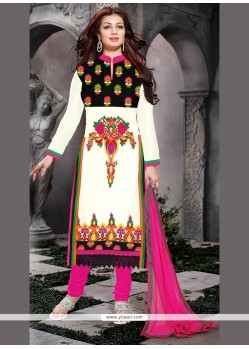 Exotic Georgette Churidar Designer Suit