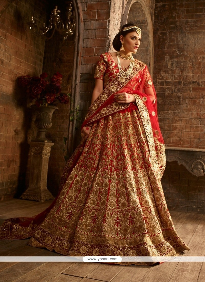 Breathtaking Raw Silk Patch Border Work A Line Lehenga Choli