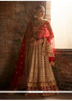 Aspiring A Line Lehenga Choli For Wedding