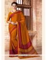 Glamorous Print Work Multi Colour Casual Saree