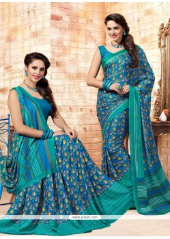Intriguing Multi Colour Casual Saree