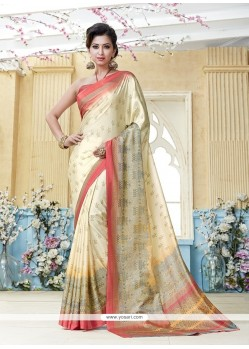 Enchanting Kanchipuram Silk Casual Saree