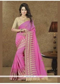 Deserving Patch Border Work Classic Saree
