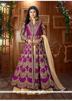 Irresistible Purple Lehenga Choli