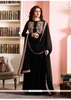 Mystic Georgette Designer Floor Length Suit