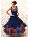 Pretty Art Silk Designer Gown