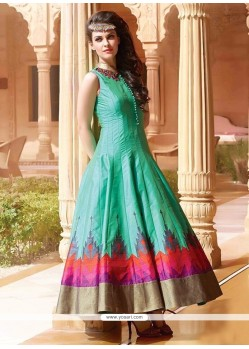 Attractive Art Silk Designer Gown