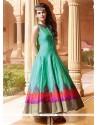 Attractive Art Silk Designer Gown