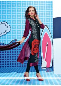 Splendid Multi Colour Churidar Designer Suit