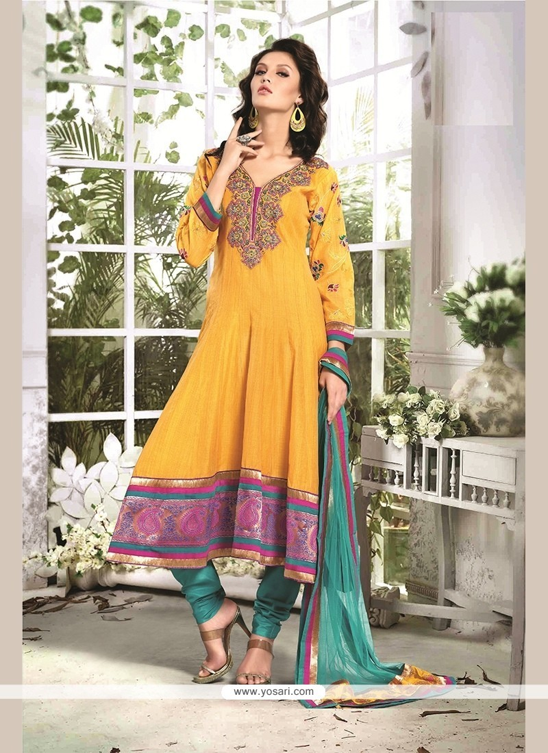 Epitome Chanderi Cotton Readymade Suit