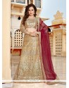 Pleasance Beige Embroidered Work Lehenga Choli