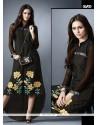 Black Georgette Designer Kurti