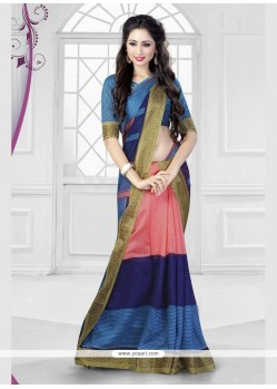 Awesome Silk Printed Saree