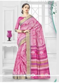 Fetching Silk Printed Saree