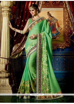 Especial Patch Border Work Classic Designer Saree