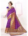 Adorning Patch Border Work Traditional Designer Sarees