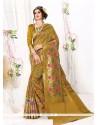Stylish Banarasi Silk Patch Border Work Designer Traditional Sarees