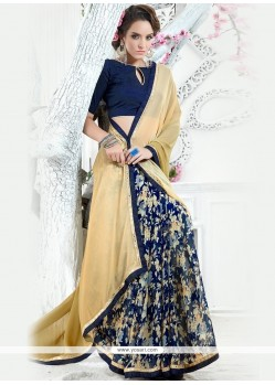 Best Georgette Print Work Printed Saree