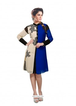 Majestic Georgette Party Wear Kurti