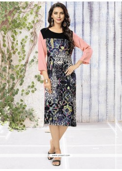 Enticing Multi Colour Party Wear Kurti