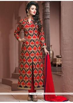 Ideal Embroidered Work Georgette Designer Palazzo Salwar Kameez