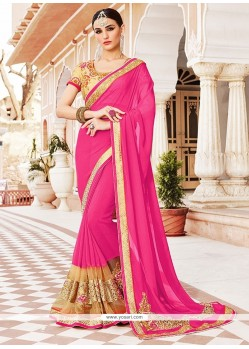 Sterling Georgette Designer Saree