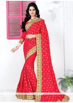 Demure Classic Designer Saree For Festival