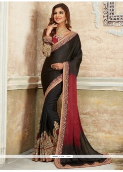 Versatile Embroidered Work Traditional Saree