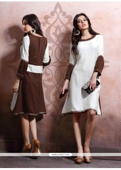 Haute Cotton Party Wear Kurti