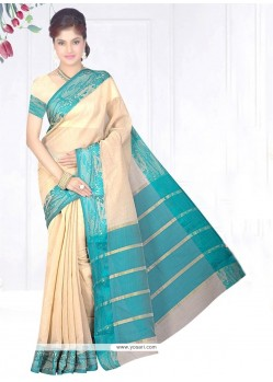Imposing Cotton Silk Casual Saree