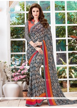 Voluptuous Multi Colour Casual Saree